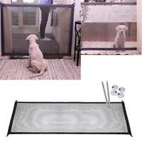 Home Magic Gate Portable Folding Safety Guard For Pet Dog Cat Isolated Gauze UK