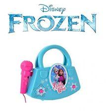 Frozen Karaoke Machine Disney Kids Portable Sing Along Speaker Microphone Party