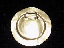 Pre-Columbian Gold Disc Pendant, High Karat