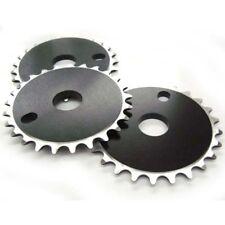 "BICICLETTA BMX BICICLETTA CNC PARACATENA chainwheel Nero 25T x 1/8"" CATENA RUOTA 25 DENTI"