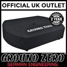 Ground Zero GZCS 10SUB-Act Flat Spare Wheel Active Subwoofer Enclosure