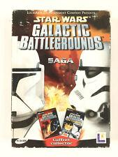 Star Wars Galactic Battlegrounds + Clone Campaigns Jeu Sur PC Saga