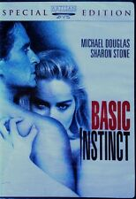 BASIC INSTINCT - MICHAEL DOUGLAS, SHARON STONE - SPECIAL EDITION - SEALED DVD