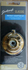 Gainsborough Privacy Adaptor Set Bright Gold for Classic & Whitehall Knobs