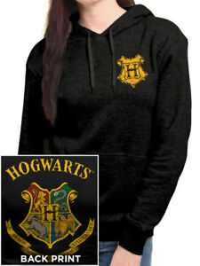 HARRY POTTER- CREST COLOUR Official Hoodie Womens Licensed Merch Pull-Over New
