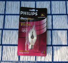 FLICKER FLAME LIGHT BULB 3 watt E12 candelabra base flickering candle neon 3w C7