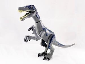 LEGO NEW MINIFIG Dinosaur, Baryonyx with Dark Blue and Metallic Blue 75935