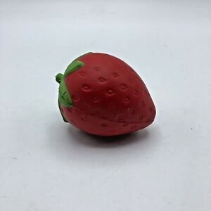 18 x Small Strawberry Slow Rising Toy Squeeze Stress Relief