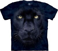 The Mountain Unisex Adult Panther Gaze Animal T Shirt