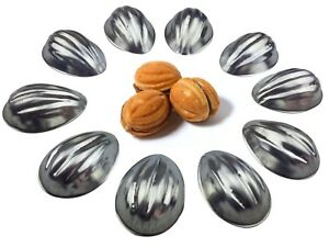 Set 50 pcs Metal Mold Forms For Sweet Russian Oreshki Pastry Cookie Nutlets