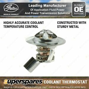 Gates Coolant Thermostat for Holden Rodeo TF 6VD1 3.2L 140kW 02/98-02/03