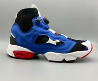 Reebok Instapump Fury OG Ultraknit Black/ Team Dark Royal/ Red CN0135 - Rare