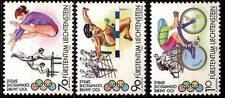 1996 LIECHTENSTEIN N°1070/1072** Jeux Olympiques, gymnastique, haies, cyclisme