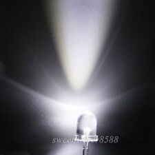 10pcs 8mm white Ultra Bright LED light Bulb Lamp Light 8MM Round White led New