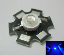 10PCS 3W Royal Blue High Power LED Emitter 700mA 450-455NM with 20mm Star PCB