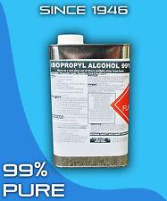 Isopropyl Alcohol 99% 1 Quart Solvent Biodiesel
