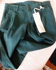 NEW Sita Murt $138 European Straight Leg Jeans Green Size 8