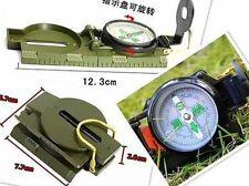 New Lensatic Compass Camping Hiking Army Style Survival Marching Plastic