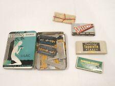 Vintage Shaving Blade Razor Refills