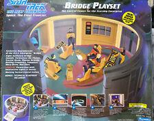 Playmates Star Trek The Next Generation Enterprise Bridge Playset 1993 Vtg