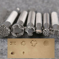 1pcs Leather Printing Tool Alloy Carving Punch Stamps CraftW Td