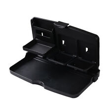 US Car Drink Holder Car Cup Holders Dining Table Desk Rear Seat Folding Tray