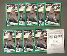 1994 Panini Baseball Seattle Mariners #118 Ken Griffey Jr. Lot of 10 Stickers