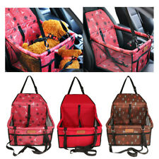 Pet Carrier Booster Car Kennel Car Seats Barriers for Small Medium Large Dog