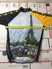 Champion System Mens Cycling Jersey Size Small S  TDF (4756-5)