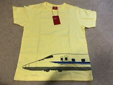 Ojico Japan Graphic T-Shirt Airport Airplane Coupling Youth Girl or Boy 12 A New