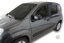 Dfi15168 FIAT PANDA 5 PORTE Deflettori Vento 2012-up 4pc HEKO colorata