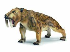 New Schleich 14520 Smilidon Prehistoric Mammal Saber-toothed Tiger Retired