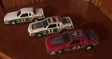 Ertl BUICK REGAL lot Richard Petty, Darrell Waltrip 3 pull back cars 1:43 scale