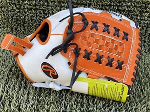 "Rawlings Liberty Advanced  12.5""  Fastpitch Softball Glove Pro Orange/Black"