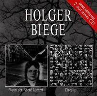 """HOLGER BIEGE """"WENN DER ABEND KOMMT/CIRCULUS"""" CD NEUWARE"""