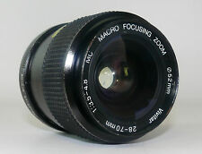 Vivitar PK AR Mount  Macro Zoom 28/70 mm  Objektiv   Lens   92