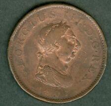 MONNAIE  1807 ANGLETERRE  GEORGES  III      232