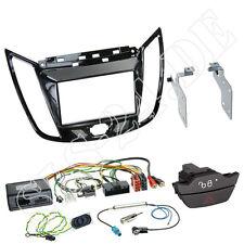Ford C-Max Kuga 2-DIN Radioblende schwarz Lenkradinterface Antenne Blinker SET