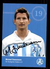 Michael Zimmermann Autogrammkarte Stuttgarter Kickers 2003-04 Original +A 140977
