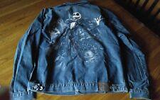Disney Store exclusive Tim Burton's Nightmare Before Christmas men denim jacket