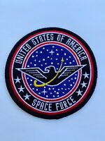 """US SPACE FORCE PATCH 3.5"""" IRON ON - UNITED STATES CONCEPT PATCH"""