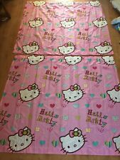"Hello Kitty Curtains 64"" Width 54"" Length"