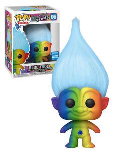 Funko POP! Trolls #06 Blue Rainbow Troll - Funko 2020 WonderCon Limited - New