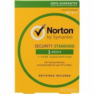 Norton Security Standar 2020 1 PC 1 Year Region Latin America