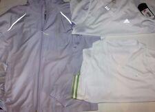 Adidas  New Women's XL Lot - 2 Loose Fit Tops & Windbreaker Jacket