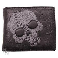 Geldbörse abstrakter Totenkopf 11cm Skull Wallet