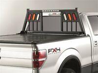 For Chevrolet Silverado 3500 HD Cab Protector and Headache Rack Backrack 95513HS
