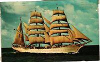 Vintage Postcard - Boats & Ships - U.S. Coast Guard Cadet Training #2778