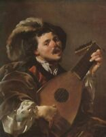 """high quality oil painting handpainted on canvas """"singing""""@N10573"""