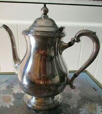 Vintage International Silver Company Camille Silverplate Teapot
